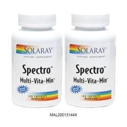 SOLARAY SPECTRO 100S EXTRA 20% TWINPACK